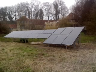 Residential Solar PV Ground Mount