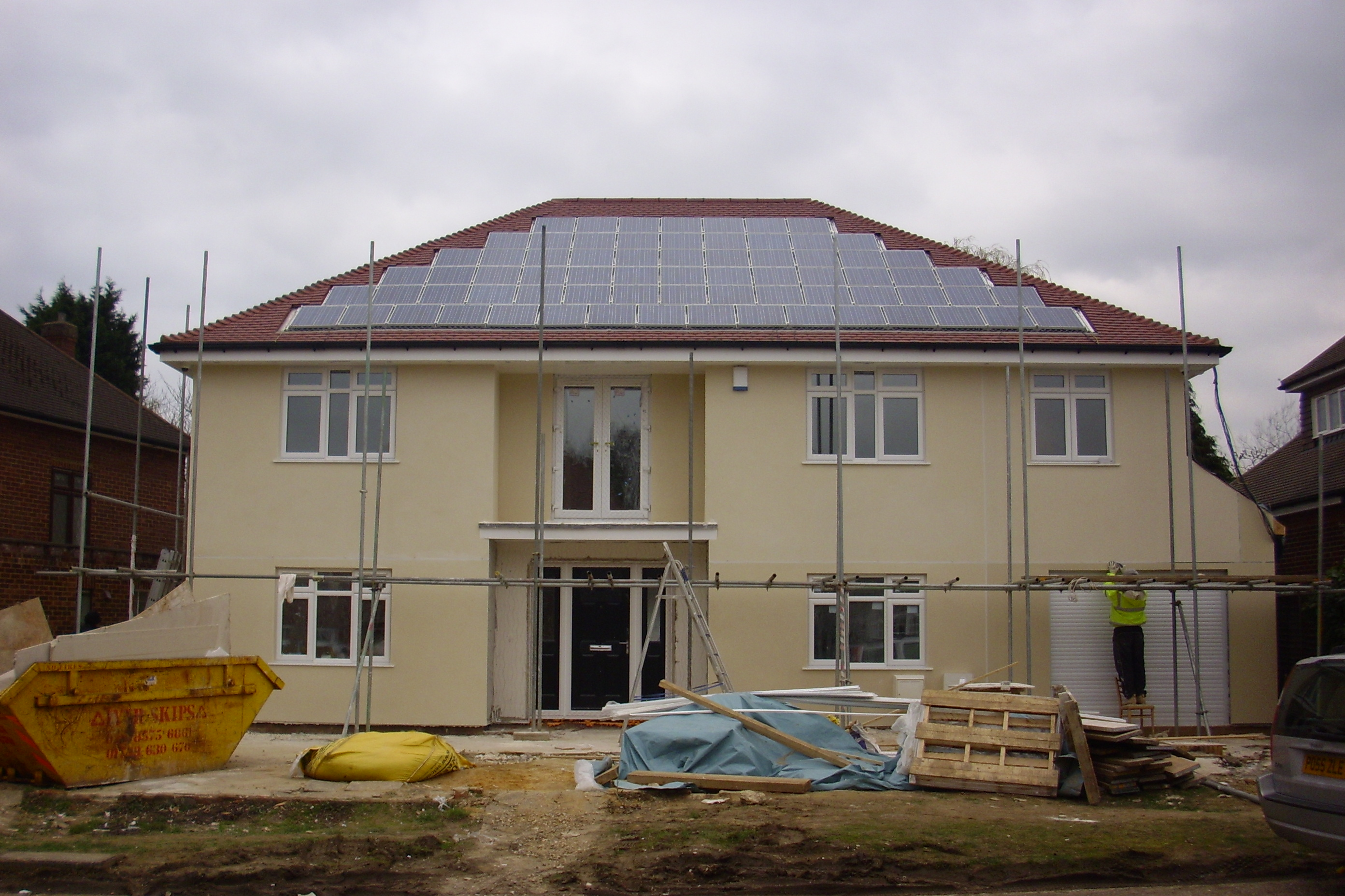 Solar Pv Case Study Eco House Uxbridge
