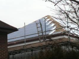 Roof Integrated Solar PV System (Gable End)