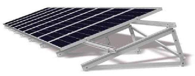 Flat Roof Solar PV Panel Mounting Systems