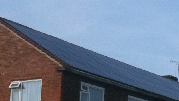 In Roof Solar PV Panel Mounting