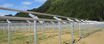 Open Ground Solar PV Mounting Frames