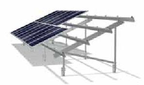Sigma II Open Ground Solar PV Panel Mounting System