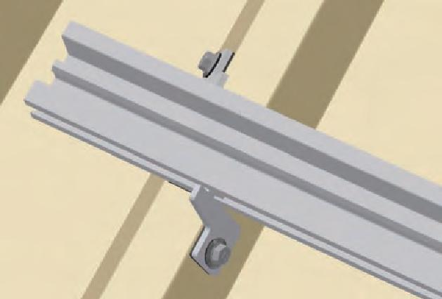 MetalFix Mounting Clips & Base Rail