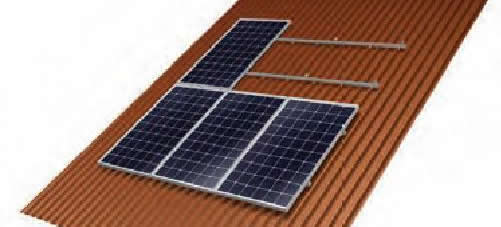 Metal Roof Solar PV Panel Mounting System